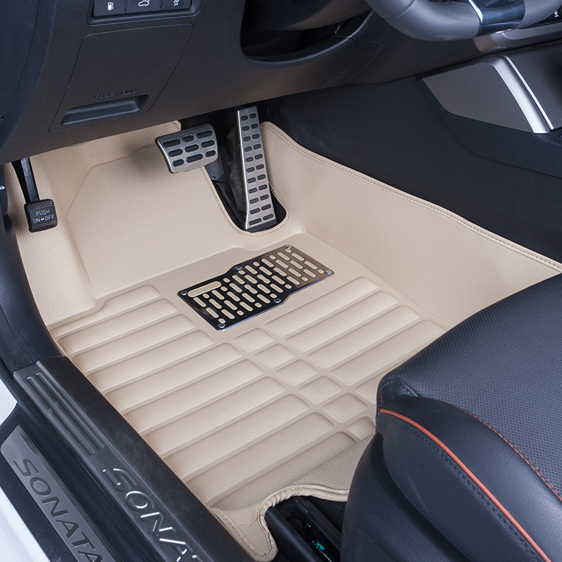 EVA XPE Hot press 5D car mat 6D car floor mats  carpet