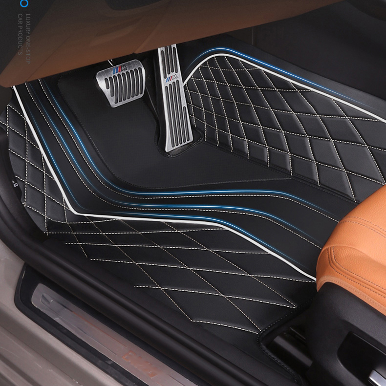 5D Hand Sewing custom fit car floor mat weather car floor liner