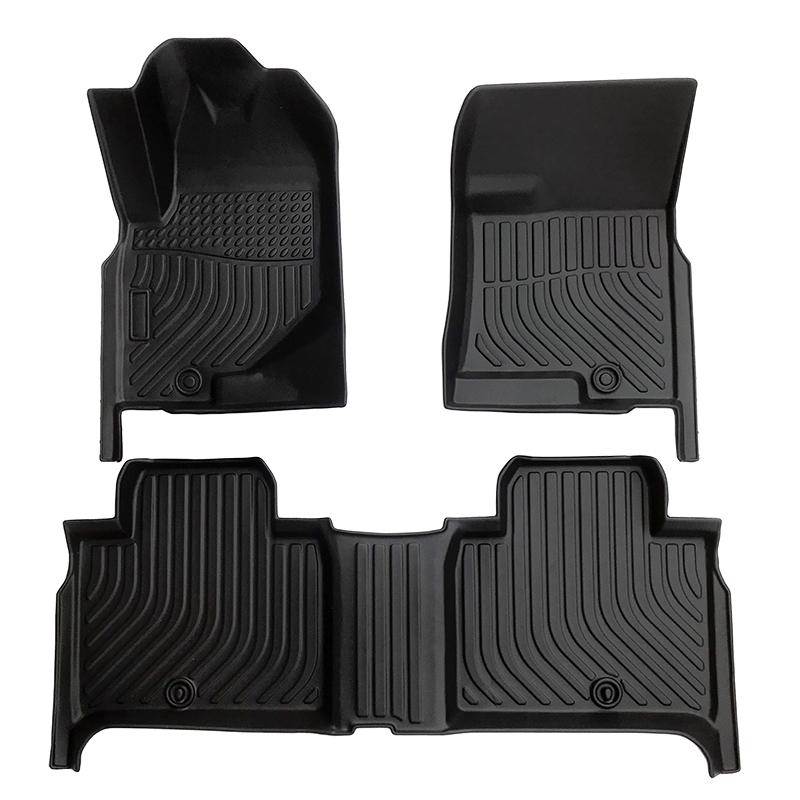 TPE Car floor mat for 2017-2021 Ssangyong Rexton G4 carpet car Matting