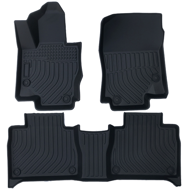 TPE weather car floor liner car floor mat for Mercedes Benz GLE 2020-