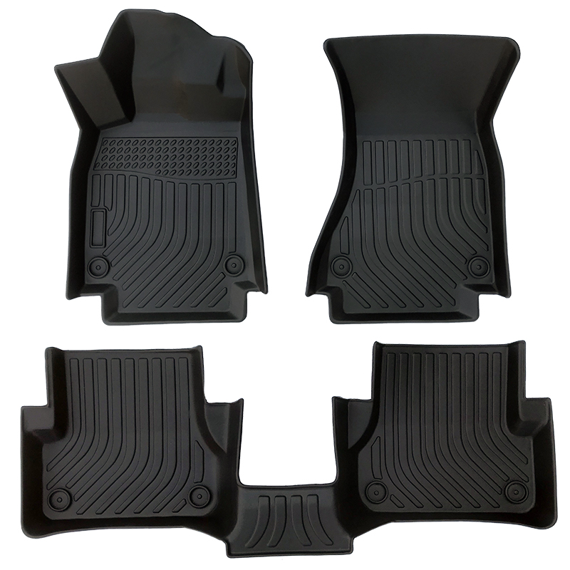 3D car floor liners car floor mats for Audi RS7 carpet