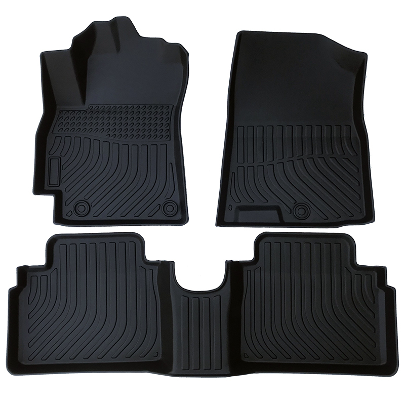 TPE weather floor liner car floor mat for 2020 Hyundai Elantra Avante
