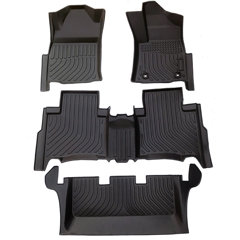 3D car floor liner 5D car floor mat matting for 2015-2020 Toyota Fortuner