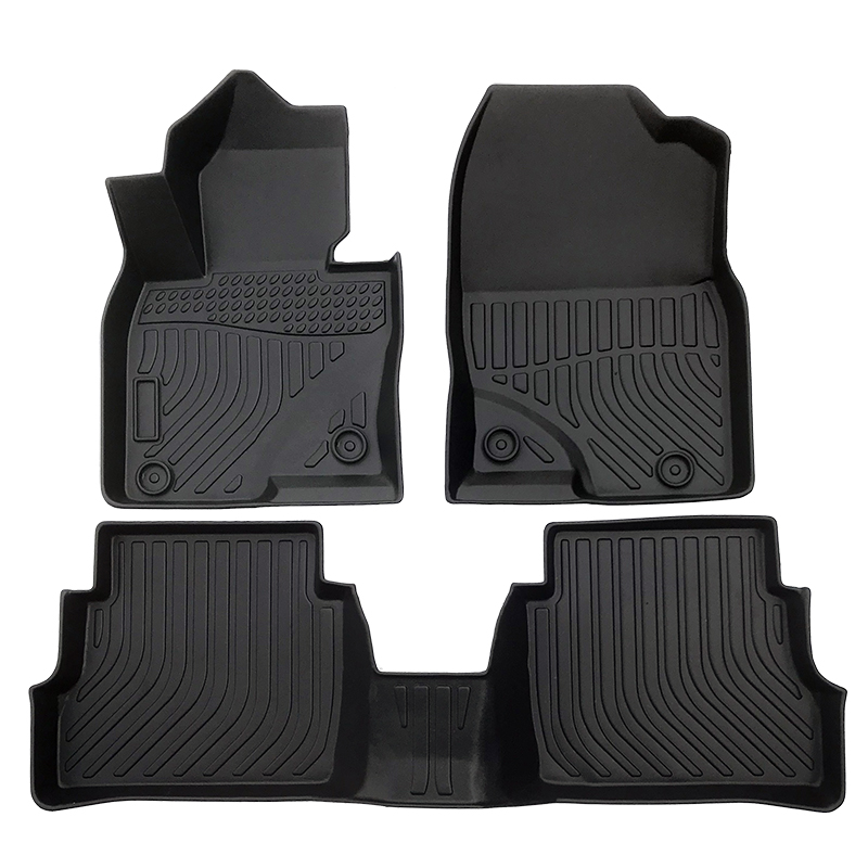 3D TPE weather car floor liner car floor mat for Mazda CX-5 trunk mat
