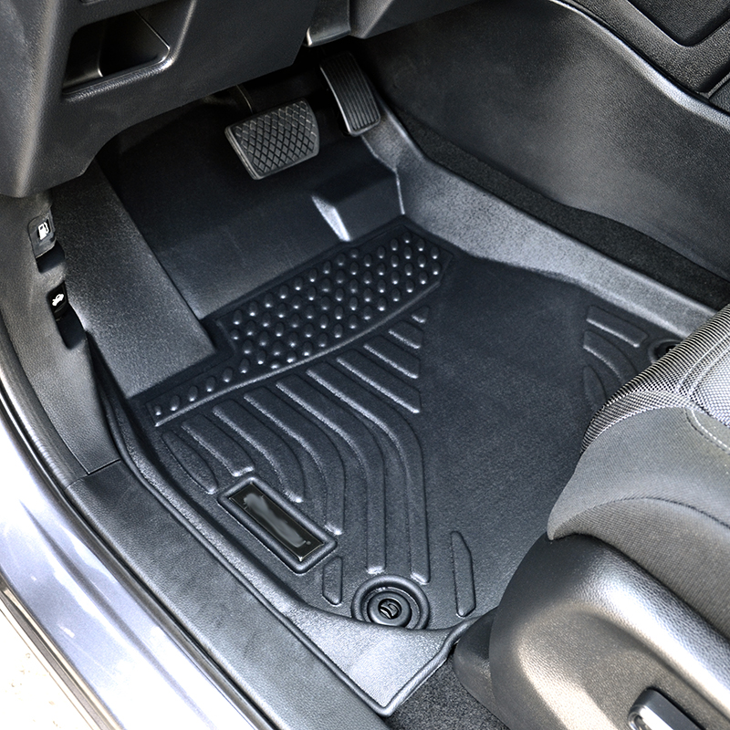 Deep dish floor liner car floor mats carpet for Honda CR-V CRV matting