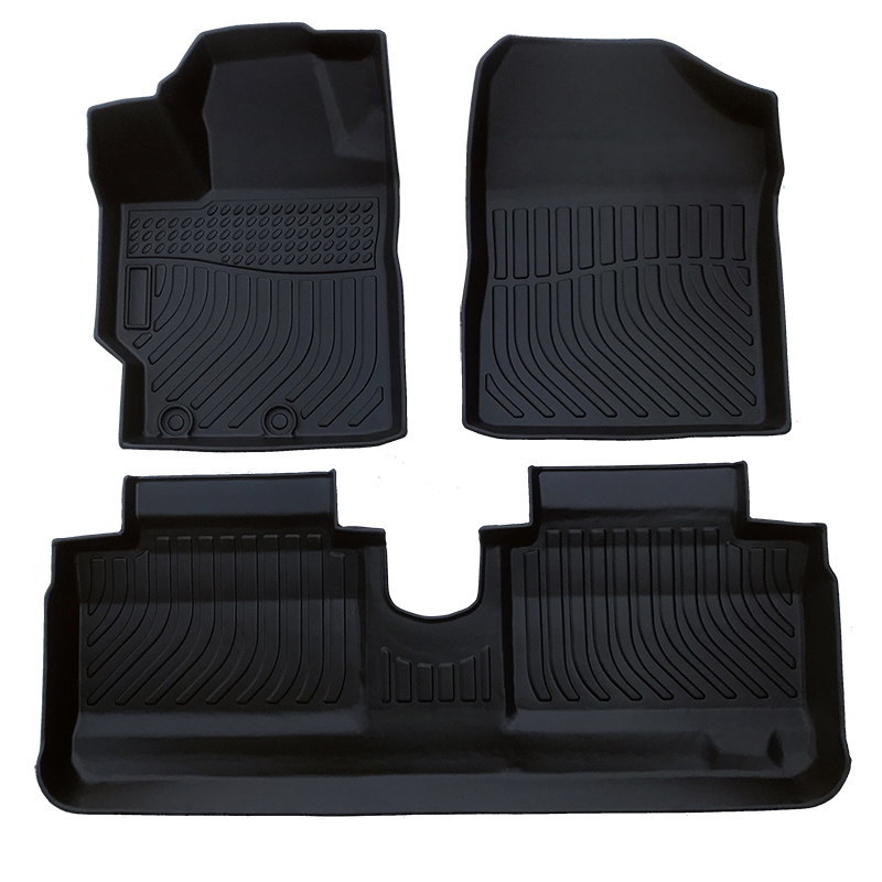 TPE weather car floor liner car floor mat for Toyota Yaris 2014-2020