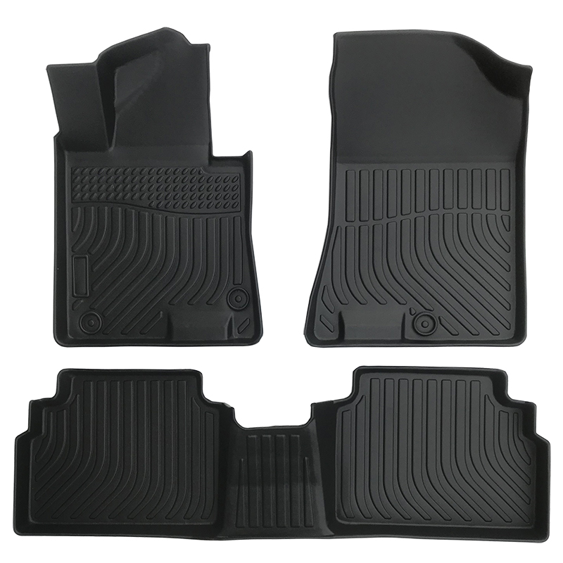 TPE all weather car floor liners car floor mats for Kia Telluride