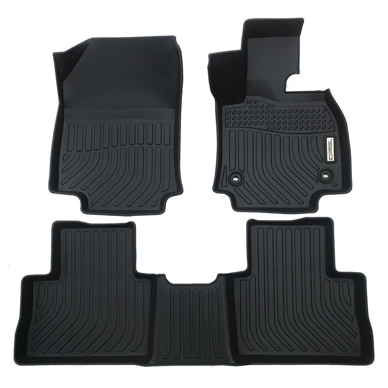 3D TPE weather car floor liner mat for 2019-2020 Toyota RAV4 Hybrid