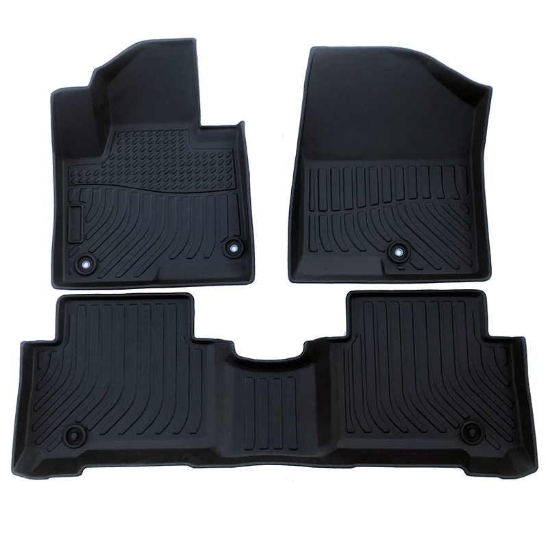 TPE weather floor liners mat for 2013-2018 Hyundai Santa Fe Sport