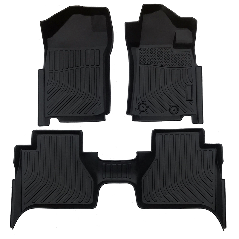 TPE car floor line mat for 2019-2020 Hyundai Santa FE carpet