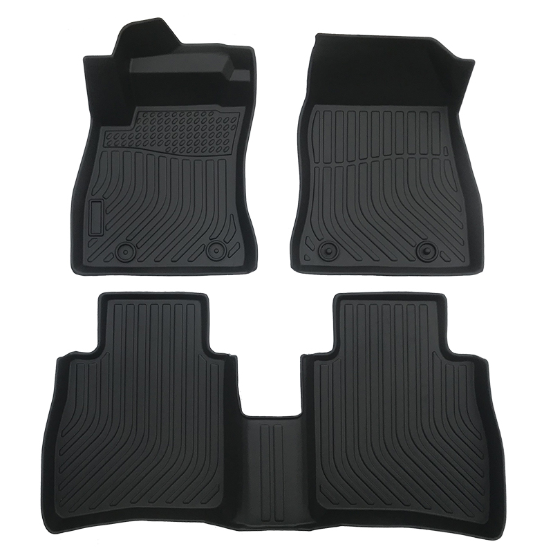 3D TPE weather car floor liners mat for 2014-2020 Nissan Sentra
