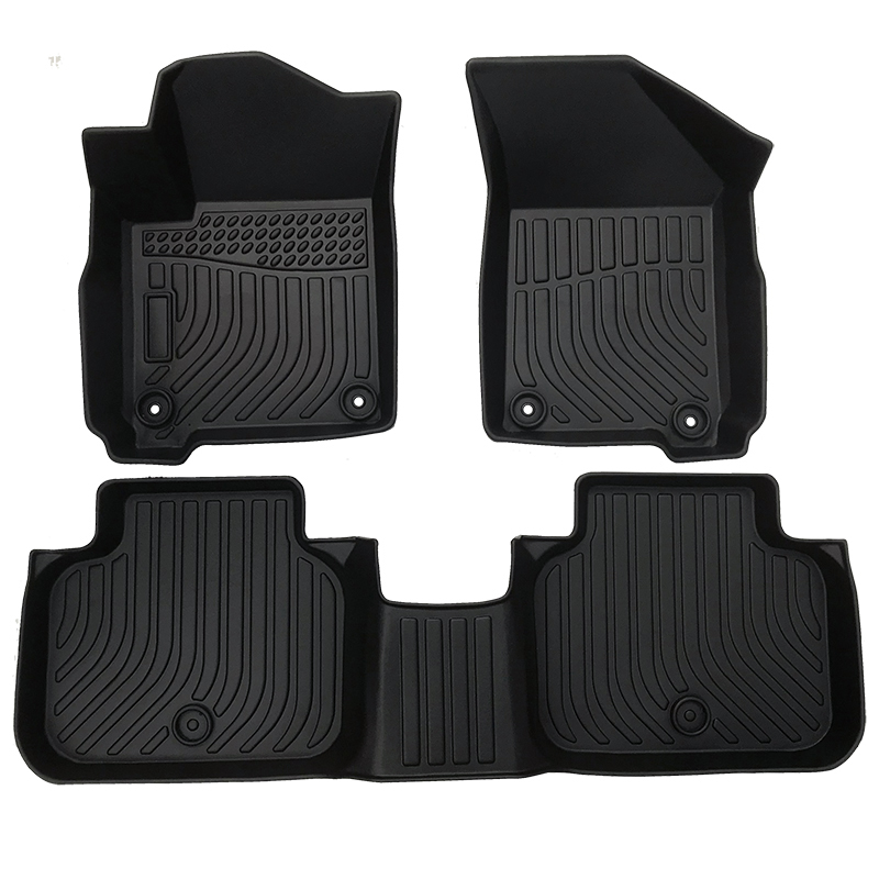 TPE all weather floor liner mat for 2011-2019 Dodge Journey