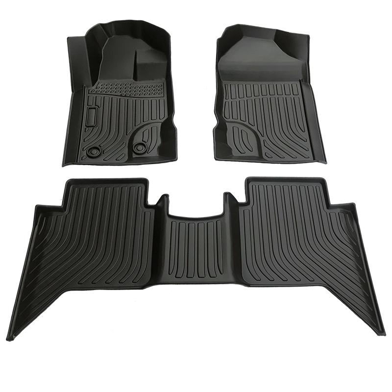 TPE weather floor liners car floor mat for Ford Ranger matting