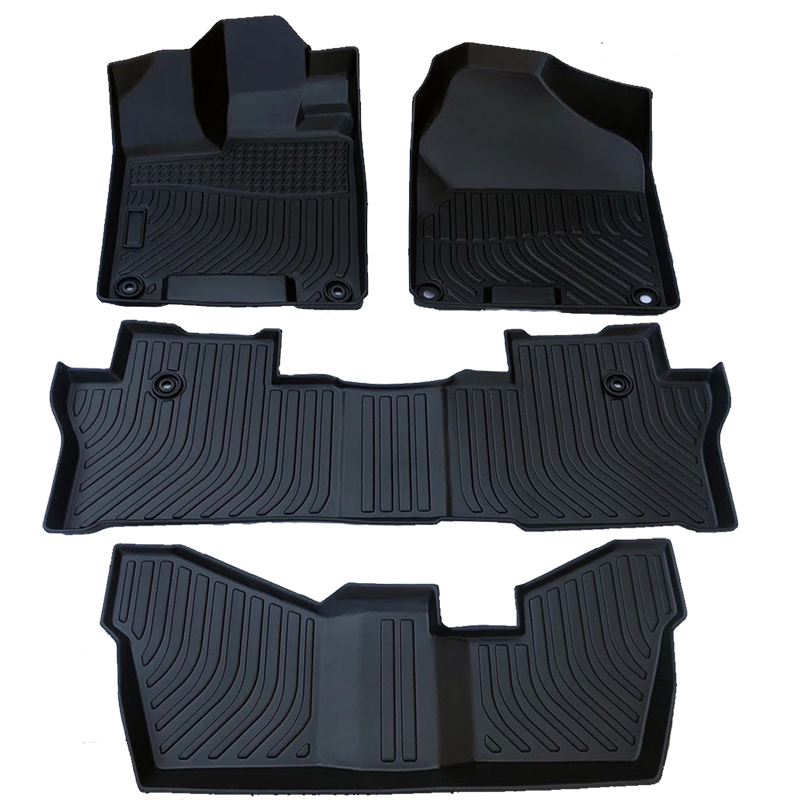 TPE all weather car floor liners mat for Honda Pilot