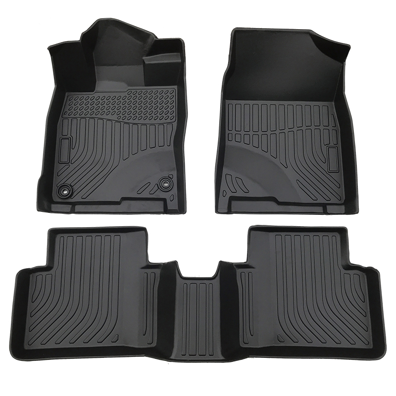 TPE all weather floor liner car mats for Honda Civic carpet matting