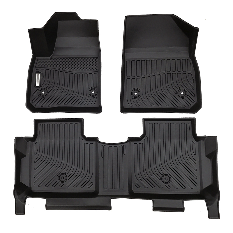 TPE all weather car floor liners mats for GMC Acadia Denali