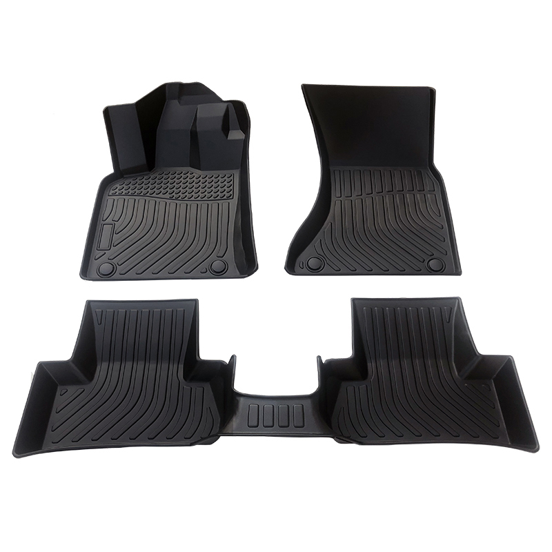 3D TPE weather car floor liners car floor mats for Audi Q5
