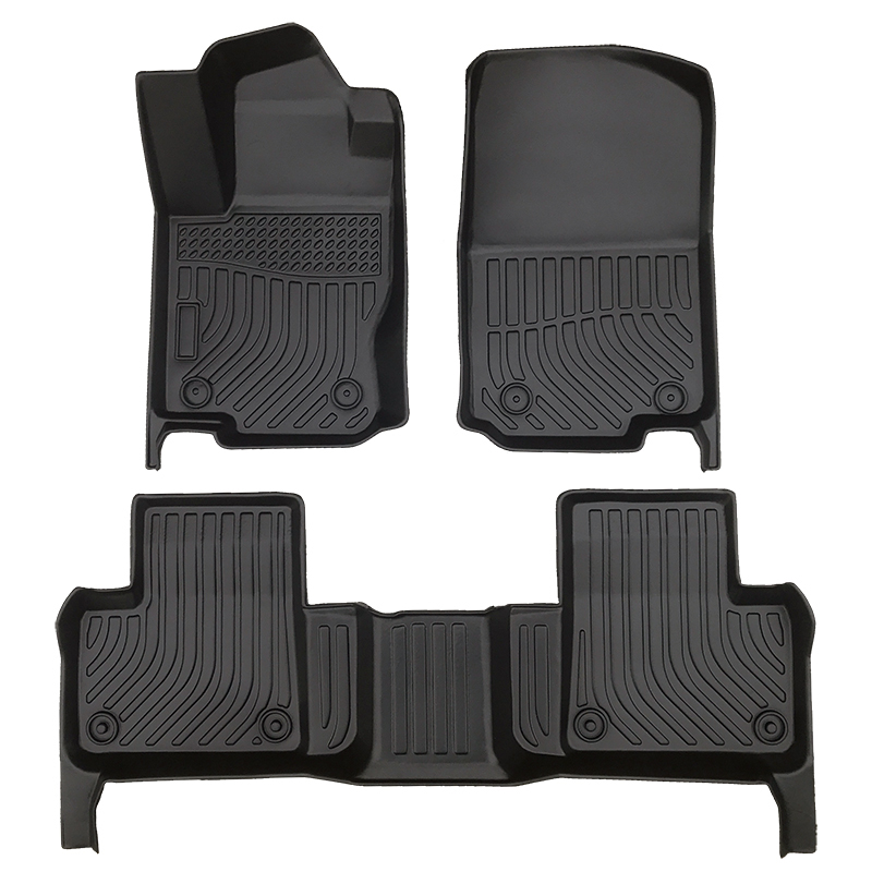 TPE all weather car floor liner car floor mats for Mercedes Benz GLE