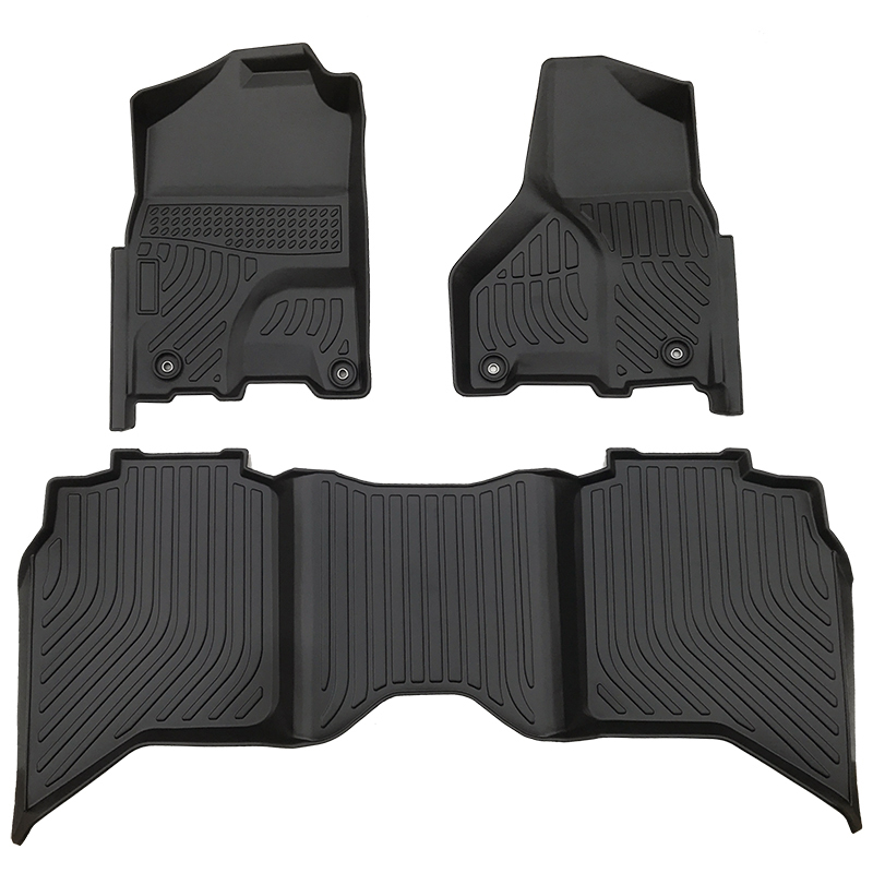 All weather car floor liner mat for Dodge RAM 1500 Crewcab Classic