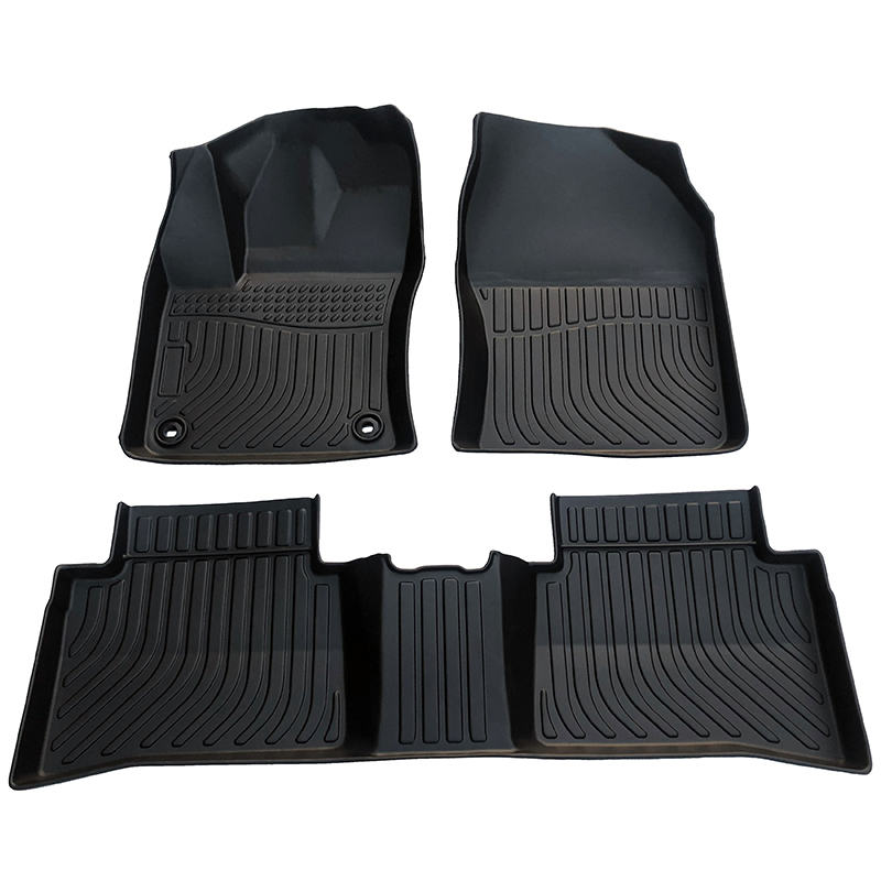 TPE all weather car floor liner car floor mats for Toyota Prius