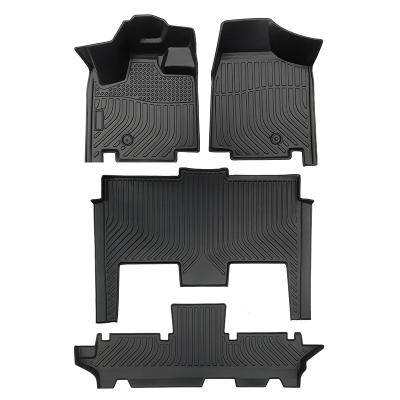 TPE all weather floor mats floor liner for Dodge Grand Caravan