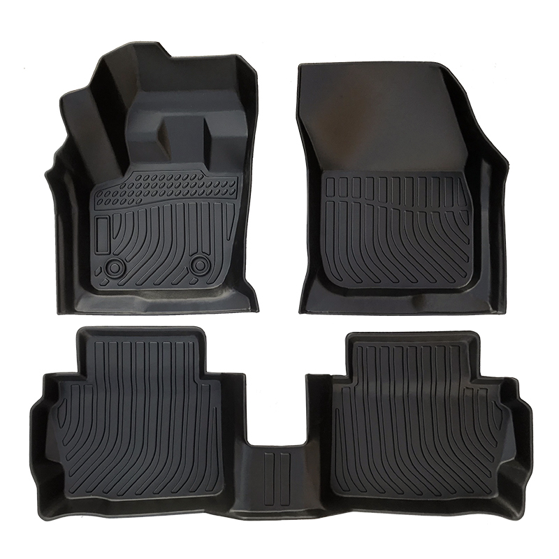TPE all weather car floor mats floor liners for Ford Mondeo