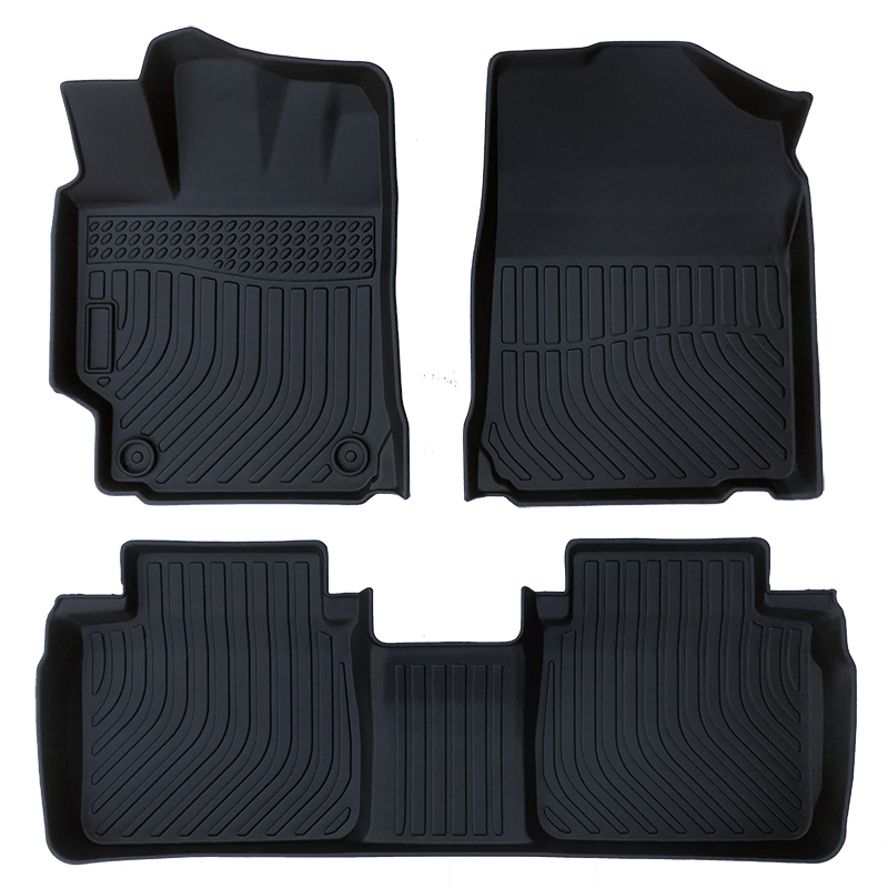 3D TPE all weather car floor liners mat for Toyota Camry