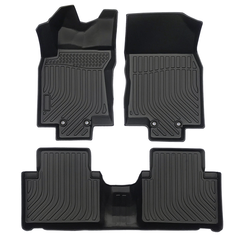 3D TPE weather car floor liner car floor mat for Nissan X-trial