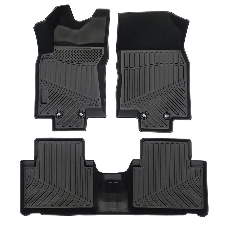 3D TPE weather car floor liner car floor mat for Nissan X-trial