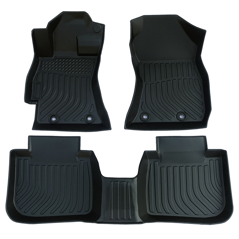 3D TPE all weather car floor liners mat for Subaru Outback carpet