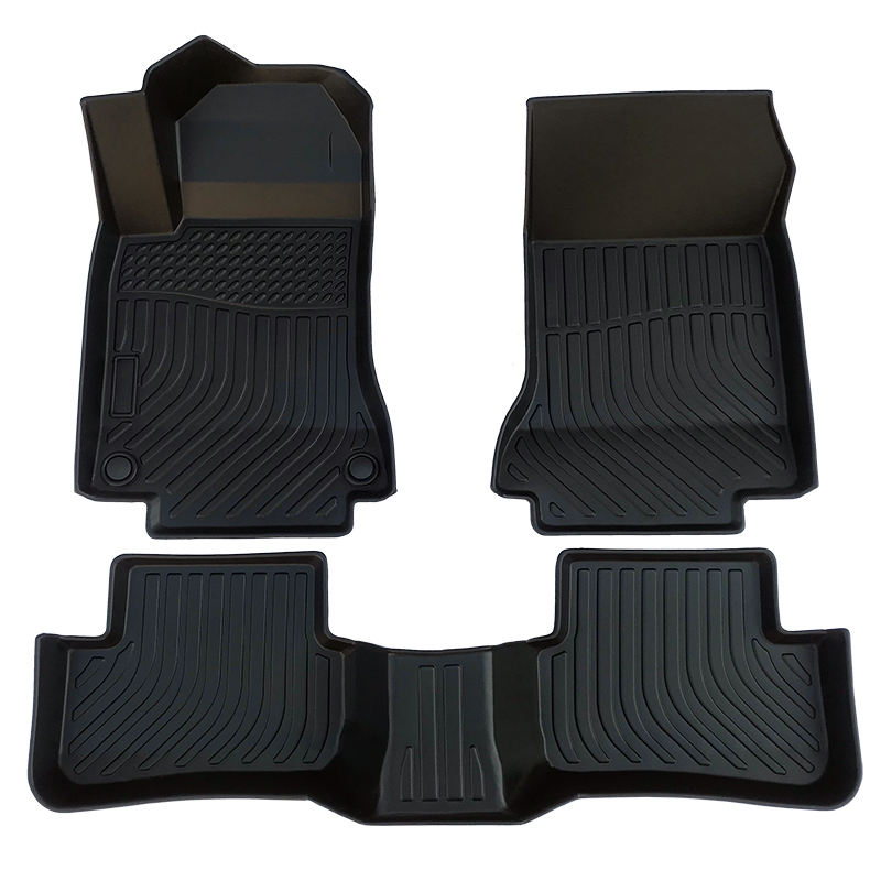 TPE weather car floor liner car floor mat for Mercedes Benz GLA