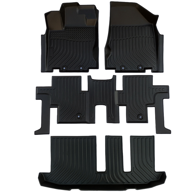 TPE all weather car floor liner floor mat for Infiniti QX60