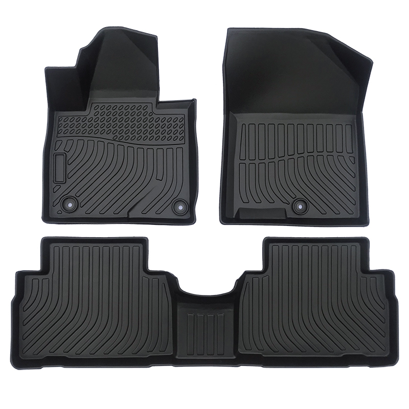 TPE car floor line mats for Hyundai Santa FE carpet matting