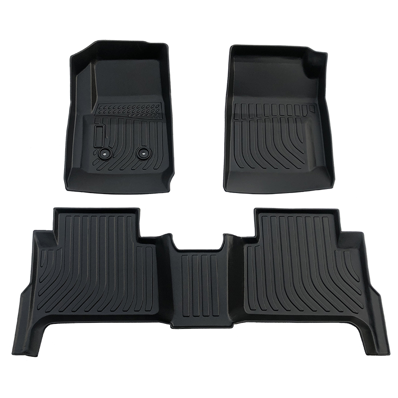 3D Tpe all weather car floor liner mats for Chevrolet Colorado