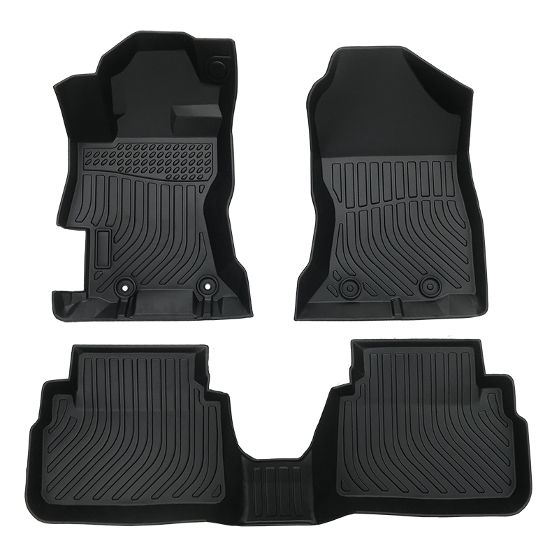 3D TPE weather car floor liners mat for Subaru Crosstrek XV