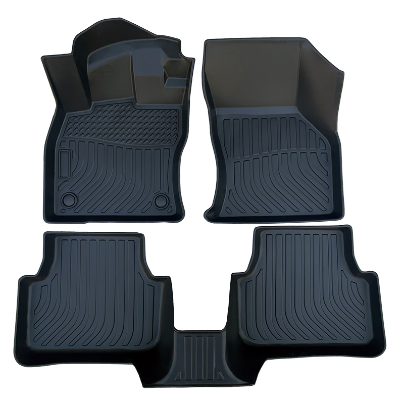 3D TPE all weather car floor liners mat for Volkswagen Jetta
