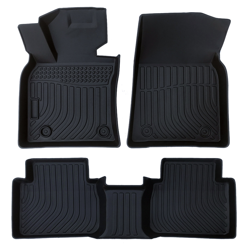 3D TPE all weather car floor liners mats for Toyota Camry