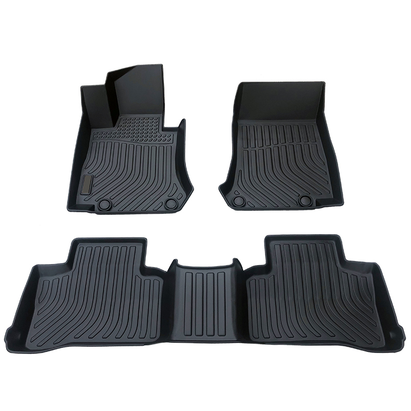3D TPE car floor liner mat for Mercedes Benz GLC Trunk mat