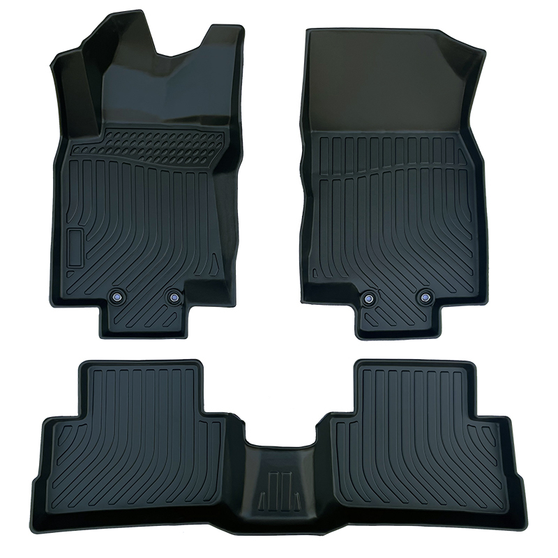 TPE all weather car floor mats liners mat for Nissan Qashqai