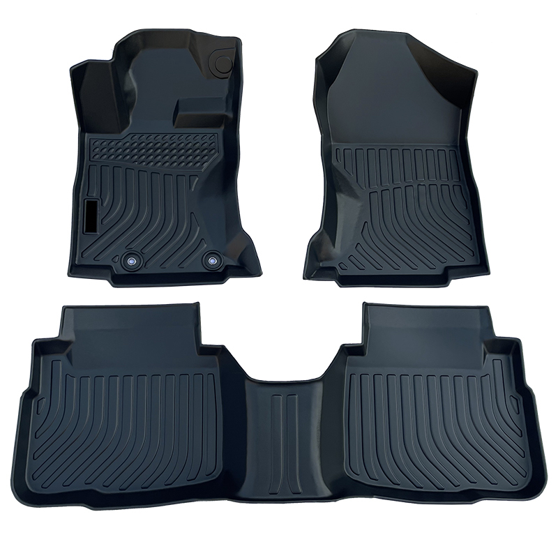 3D TPE weather car floor liners mats for Subaru Legacy
