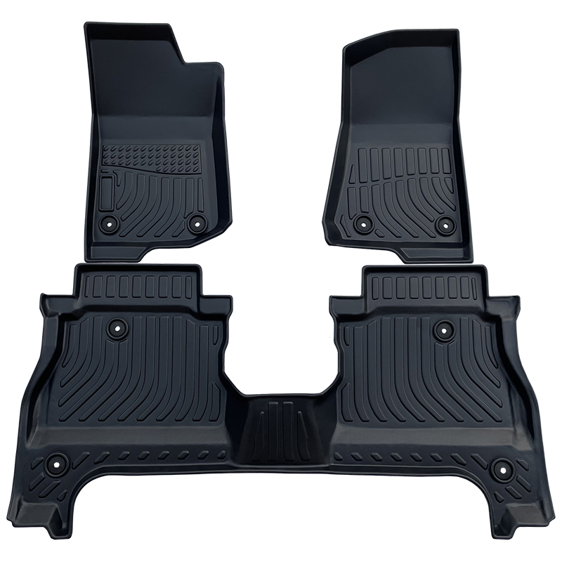 TPE all weather car floor liners mat for Jeep All new Gladiator