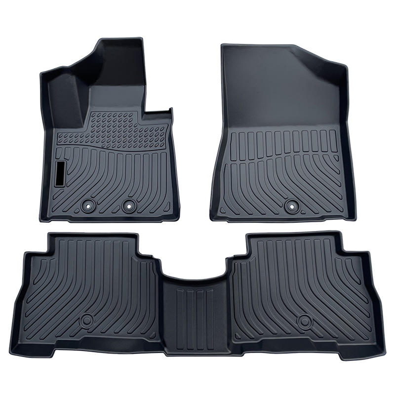 TPE all weather car floor liners mats for Kia Sorento carpet matting