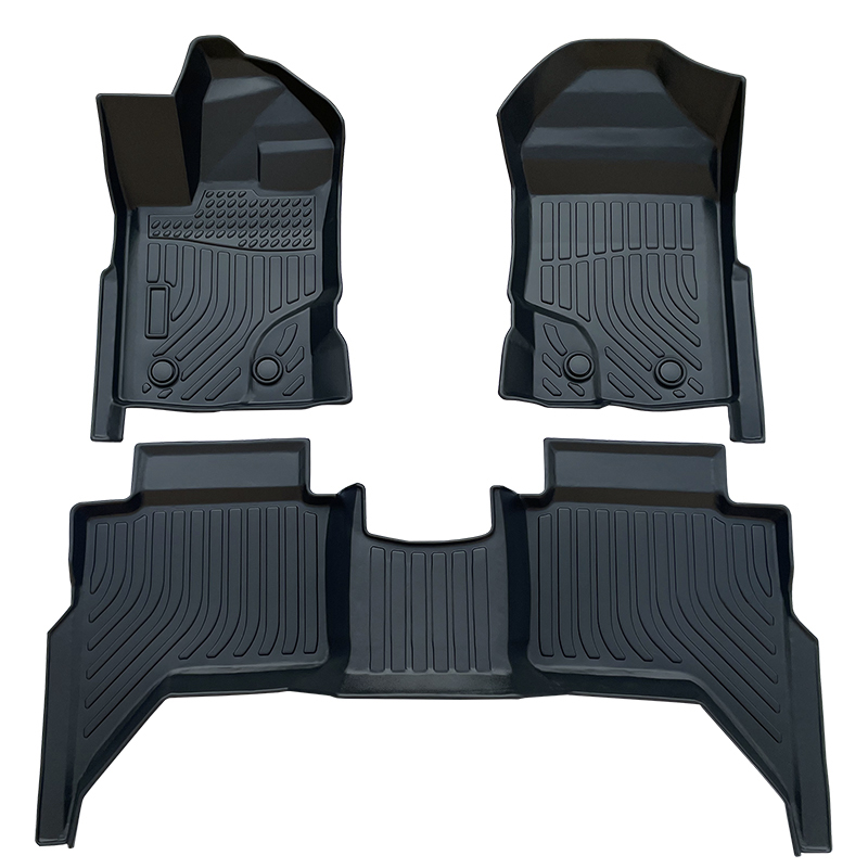 TPE all weather car floor liners mat for Ford Ranger SuperCrew