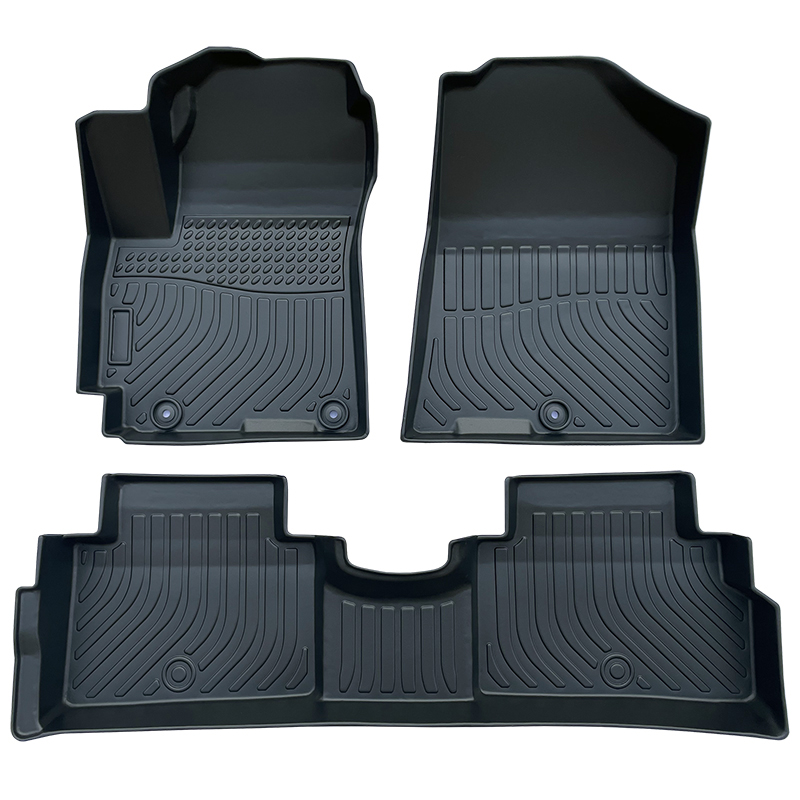TPE weather car floor liners mats for Kia Soul carpet matting
