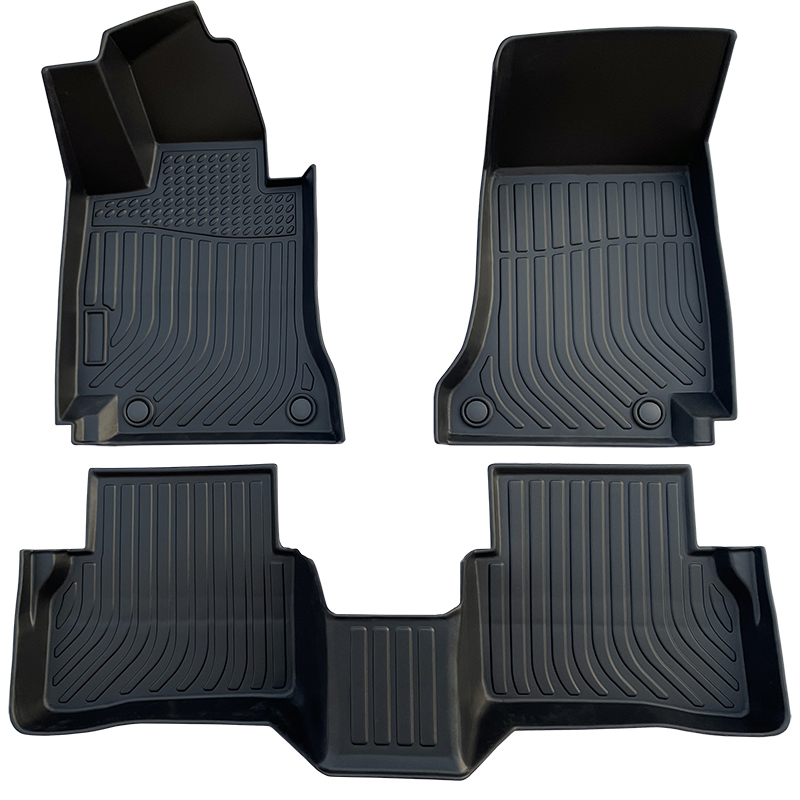 3D TPE weather car floor liners mat for Mercedes Benz C class W205