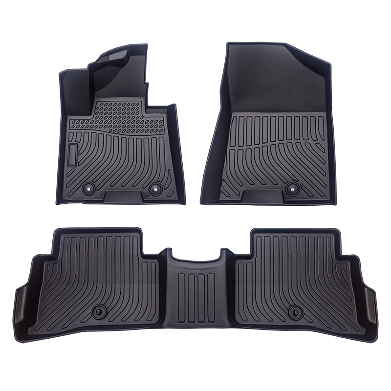 TPE all weather car floor liners trunk mat for KIA Sportage cargo liners
