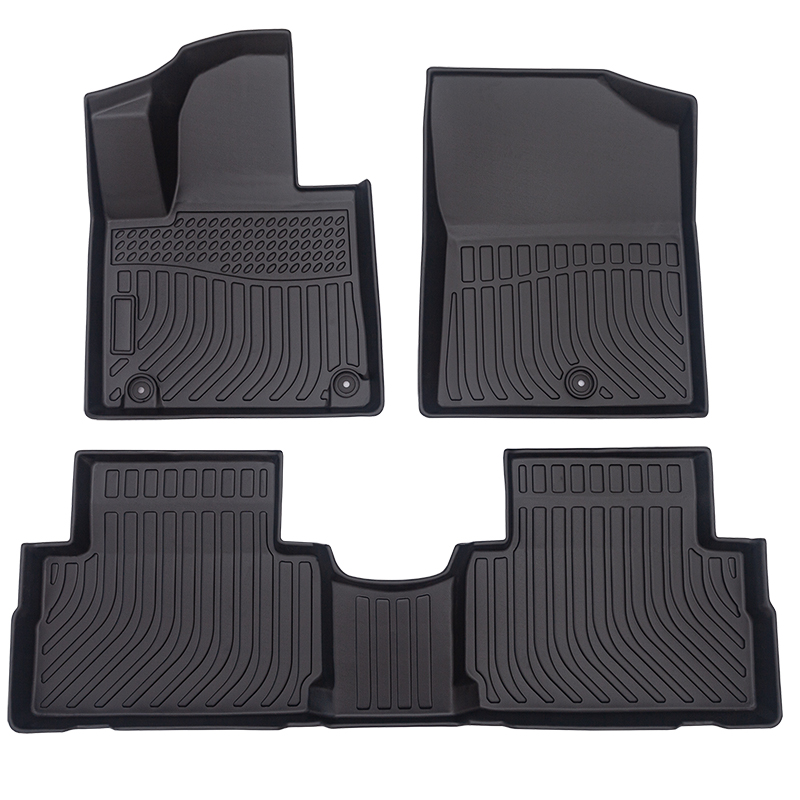 TPE car floor line mats for Hyundai Santa FE 2021 cargo liner trunk mat