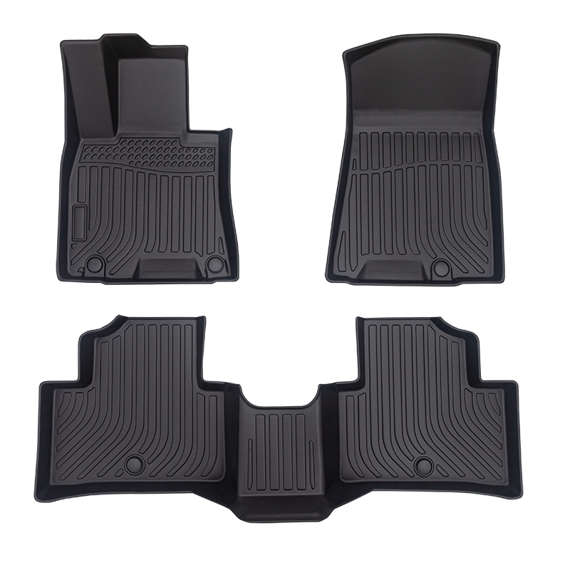 3D TPE car floor mats for Genesis GV70 Tpe 카매트 floor liners