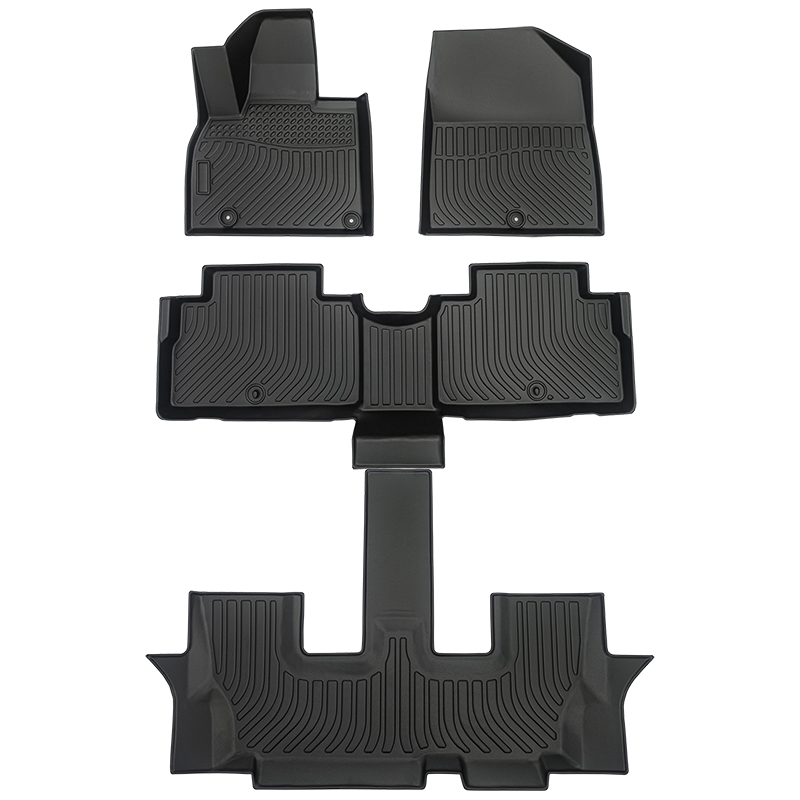 TPE all weather car floor liners car floor mats for Kia Telluride