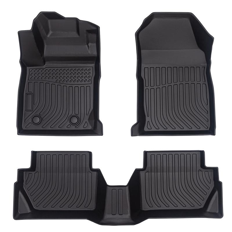 5D Deep dish carpet car floor liners mats 3D matting for Ford Ecosport